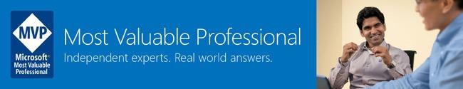 Awarded Microsoft Most Valuable Professional (MVP) 2014